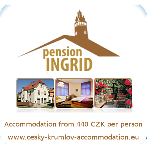 Pension Ingrid - accommodation Cesky Krumlov